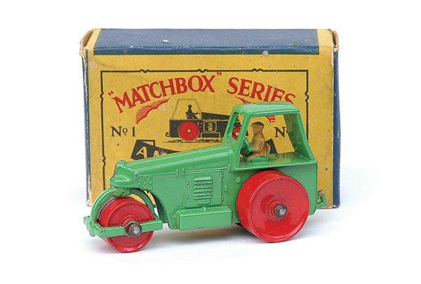 2002: Matchbox No.1 Diesel Road Roller