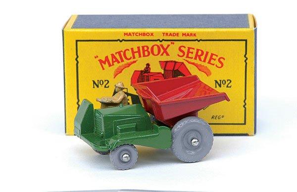 2003: Matchbox No.2 Muir Hill Site Dumper
