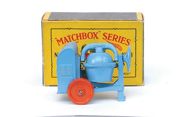 2004: Matchbox No.3 Cement Mixer