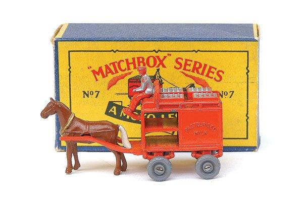 2013: Matchbox No.7 Horse Drawn Milk Float