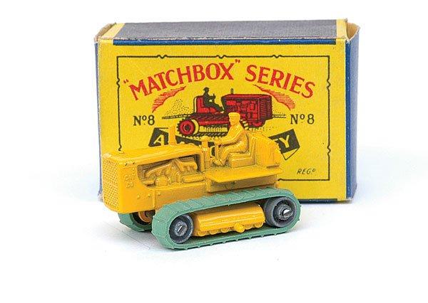 2015: Matchbox No.8 Caterpillar Tractor