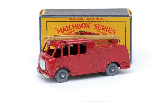 2017: Matchbox No.9 Merryweather Marquis Fire Engine