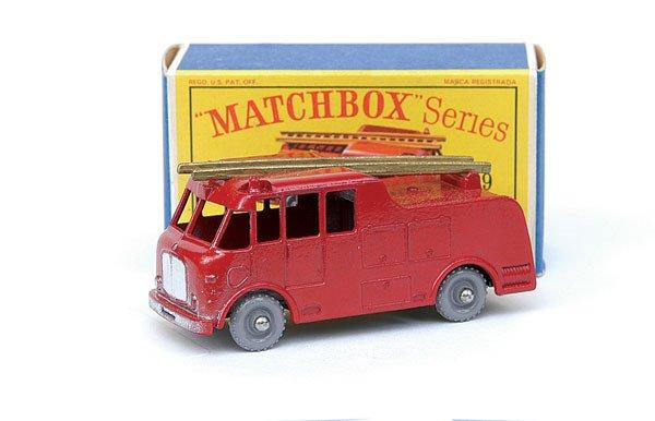 2018: Matchbox No.9 Merryweather Marquis Fire Engine