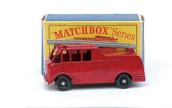 2019: Matchbox No.9 Merryweather Marquis Fire Engine