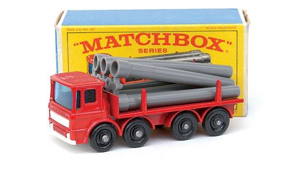 2022: Matchbox No.10 Leyland Pipe Truck