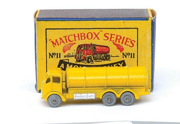 2023: Matchbox No.11 ERF Road Tanker