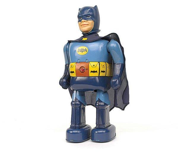 "2769: Tinplate Japanese battery operated ""Batman"""