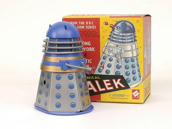 """2820: Codeg """"Dr Who"""" clockwork """"Dalek"""""""
