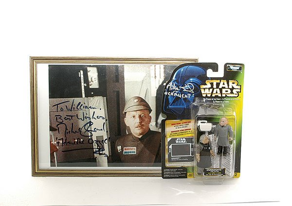 3013: A pair of signed Star Wars items