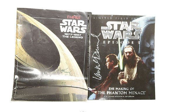 3016: A pair of Signed Star Wars Items