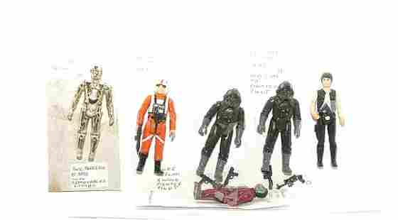 Quantity of Palitoy Return of the Jedi figures