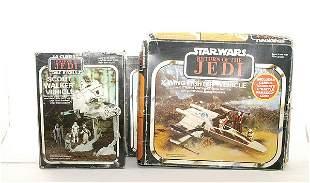 3 x General Mills Return of the Jedi Vehicles