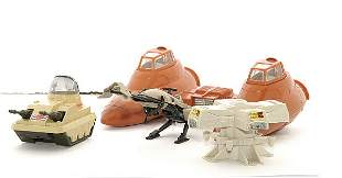 A quantity of loose Star Wars figures