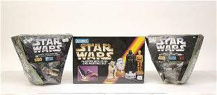 A large mixed group of recent Star Wars items
