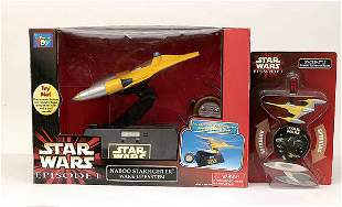 A small mixed group of Star Wars items