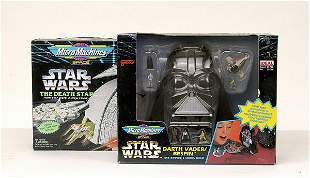 Micro Machines - a group of 7 Star Wars items