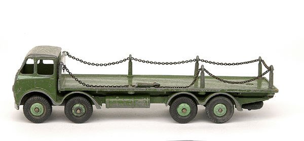 3161: Dinky No.501 Foden Flat Truck with Chains