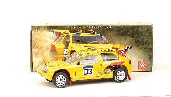 "5001: Solido 1/18th scale Citroen ZX ""Rallye Raid"""