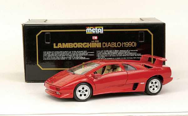 5013 Bburago No 3028 Lamborghini Diablo