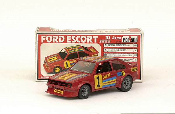 5024: Polistil No.SN28 Ford Escort RS2000
