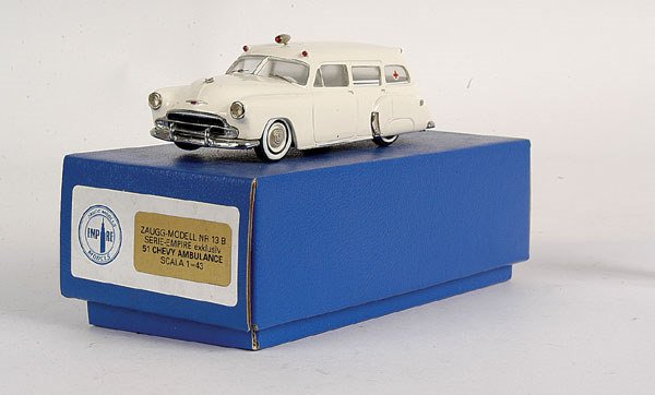5913: Empire Models No.13B Chevrolet Ambulance 1951