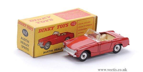 1: Dinky No.112 Austin Healey Sprite