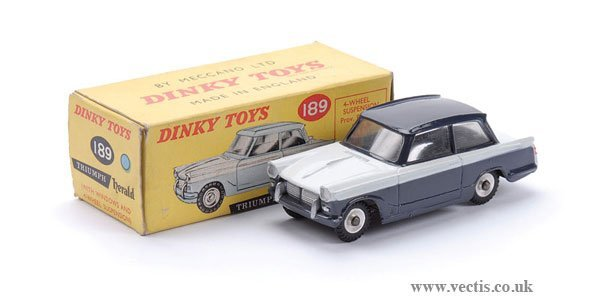 2: Dinky No.189 Triumph Herald