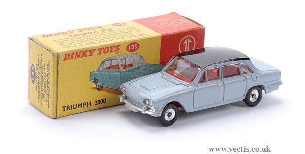 3: Dinky No.135 Triumph 2000