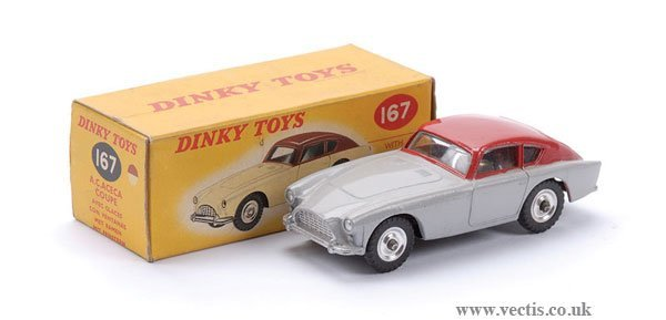 5: Dinky No.167 A.C. Aceca Coupe