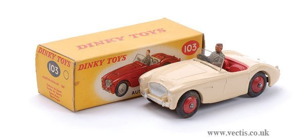 7: Dinky No.103 Austin Healey 100 Sports Car