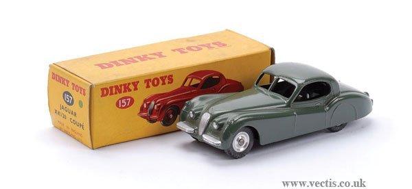 11: Dinky No.157 Jaguar XK120 Coupe