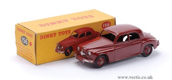 14: Dinky No.156 Rover 75 Saloon