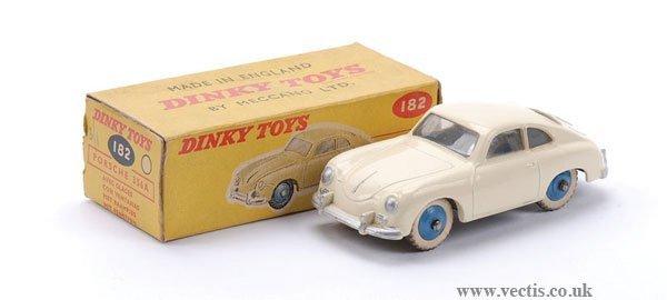 17: Dinky No.182 Porsche 356A Coupe
