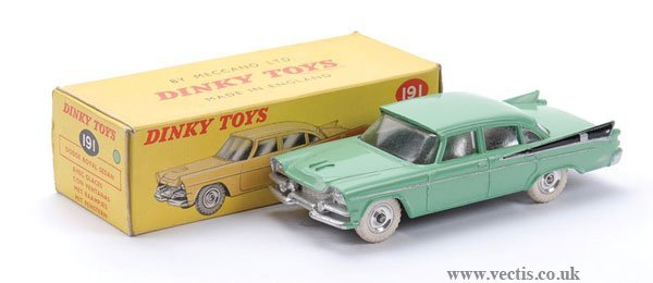 19: Dinky No.191 Dodge Royal Sedan