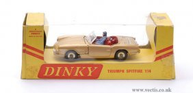 "21: Dinky No.114 Triumph Spitfire ""Tiger in my Tank"""