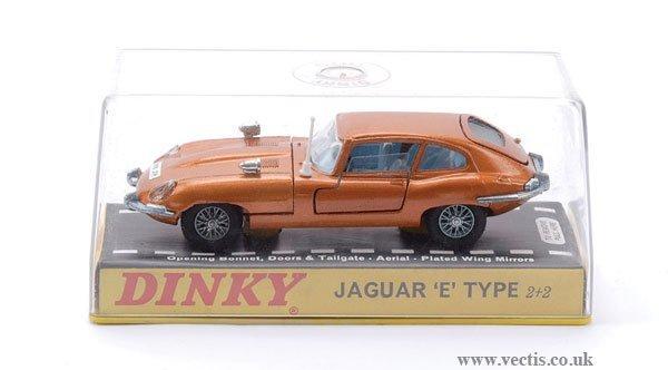 23: Dinky No.131 Jaguar E-type