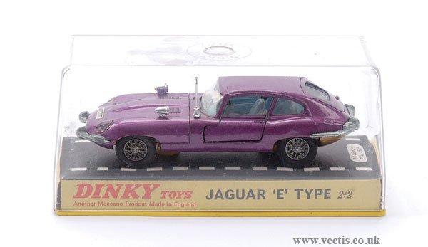 24: Dinky No.131 Jaguar E-type