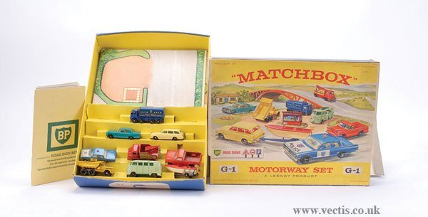 "180: Matchbox Regular Wheels Gift Set G1 ""Motorway"""