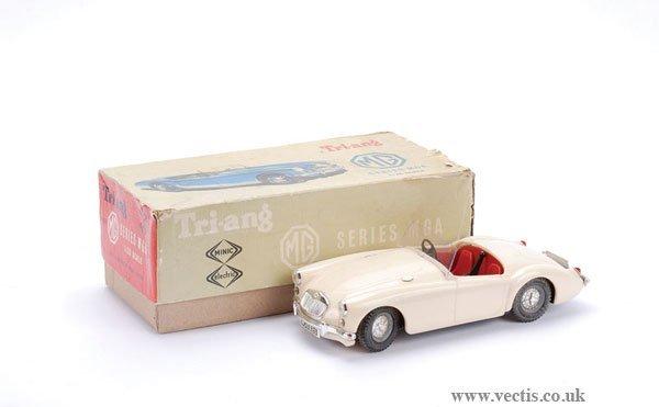 1004: Triang 1/20th scale MGA Sports Car