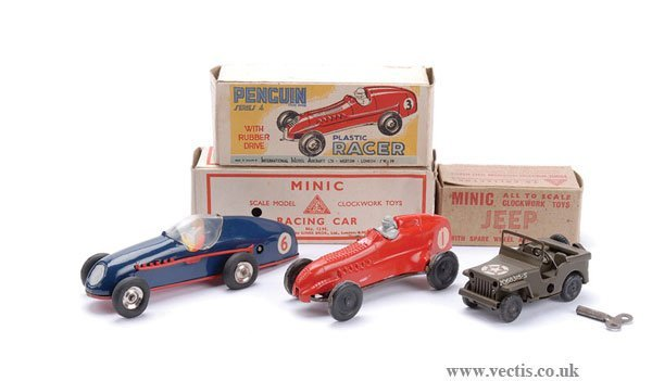 1012: Penguin and Triang Minic Racing Cars