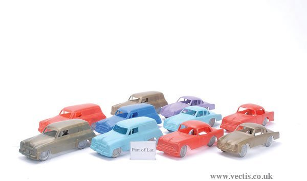 1016: 1/24th scale Plastic American Cars