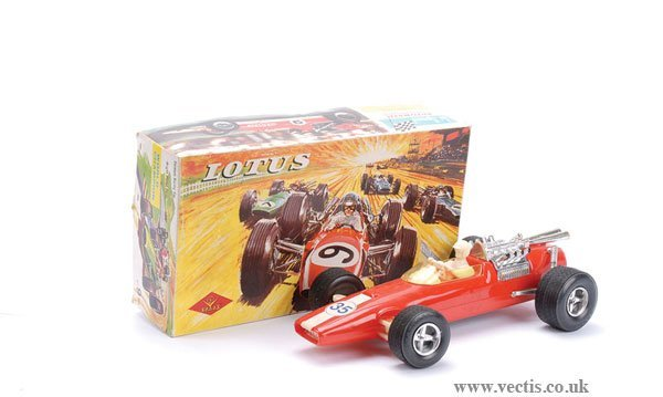 1018: Gavrieiedes Toys (Greece) Large Lotus Racing Car