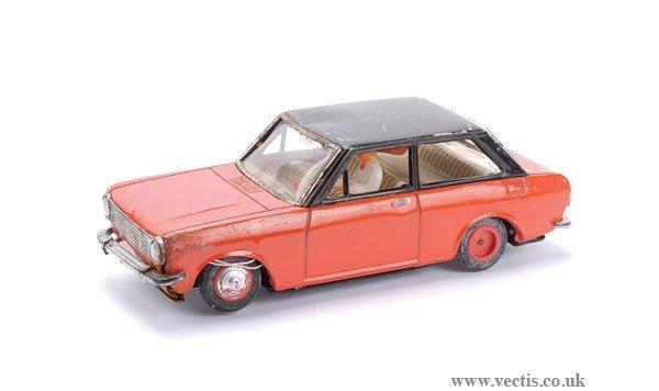 1021: Solpa (Greece) Tinplate Datsun 1000