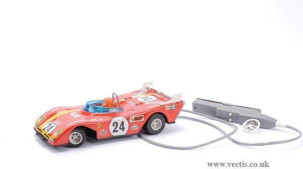1022: Jouets Mont Blanc (France) Ferrari Le Mans Racer