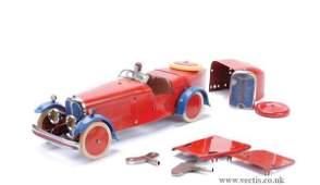 1024 Meccano No2 Constructor Car