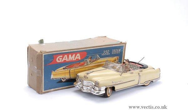 1038: Gama Germany No350 Electric Cadillac Convertible