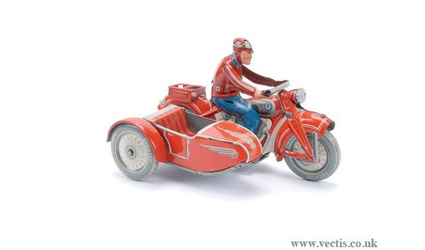 1212: Tipp & Co (Germany) Motorcycle and Sidecar