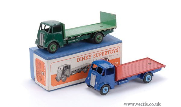 2012: Dinky No.513 Guy Flat Truck with Tailboard