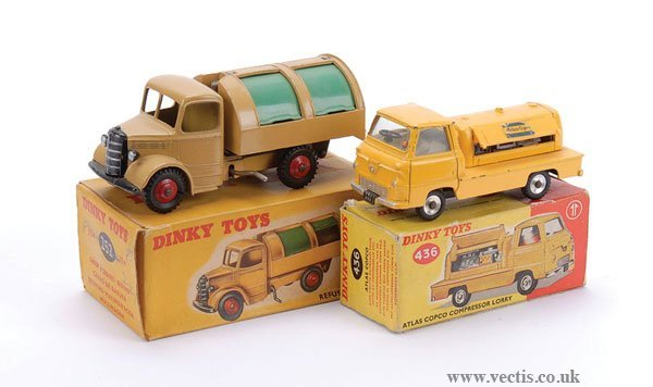 2015: Dinky Refuse and Compressor Lorries