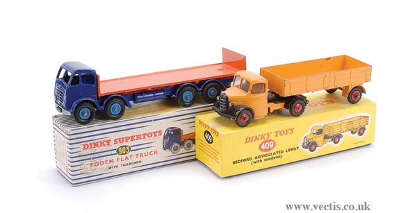 2024: Dinky Foden and Bedford Lorries